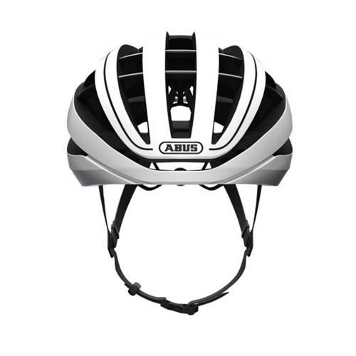 Foto vooraanzicht Abus fietshelm model Aventor