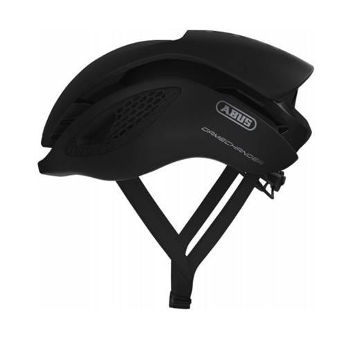Voorbeeld van de Abus Gamechanger fietshelm in de kleur Velvet black